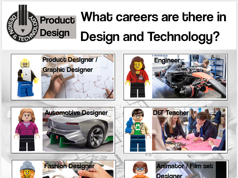 Careers in D&T POSTER