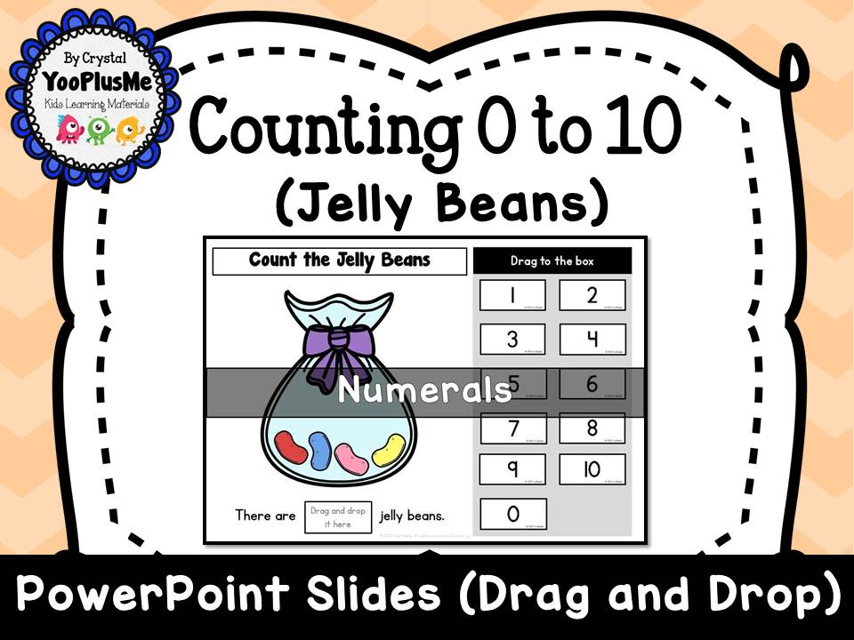 Jelly Beans: Count 0 to 10 (Free) - Numbers