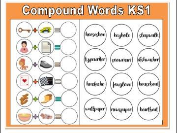 Compound Words for KS1