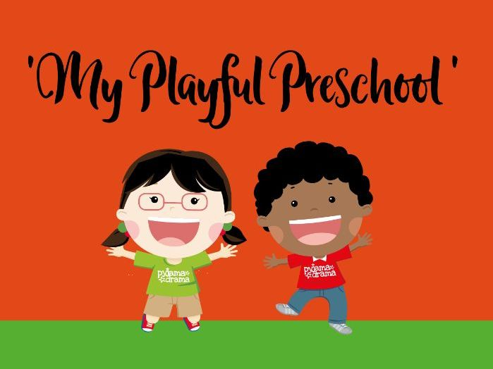 'My Playful Preschool' - pack of 8 drama games perfect for Circle Time!