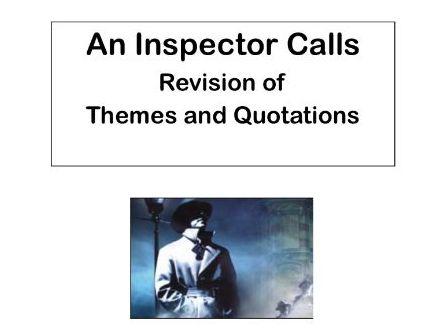 AQA An Inspector Calls:  Theme of Power