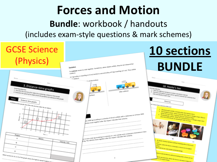 Middle School Force And Motion Resources