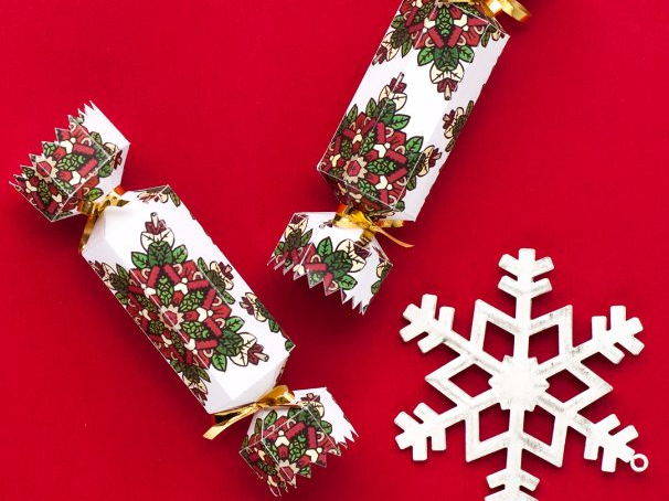 Free Christmas Cracker Template
