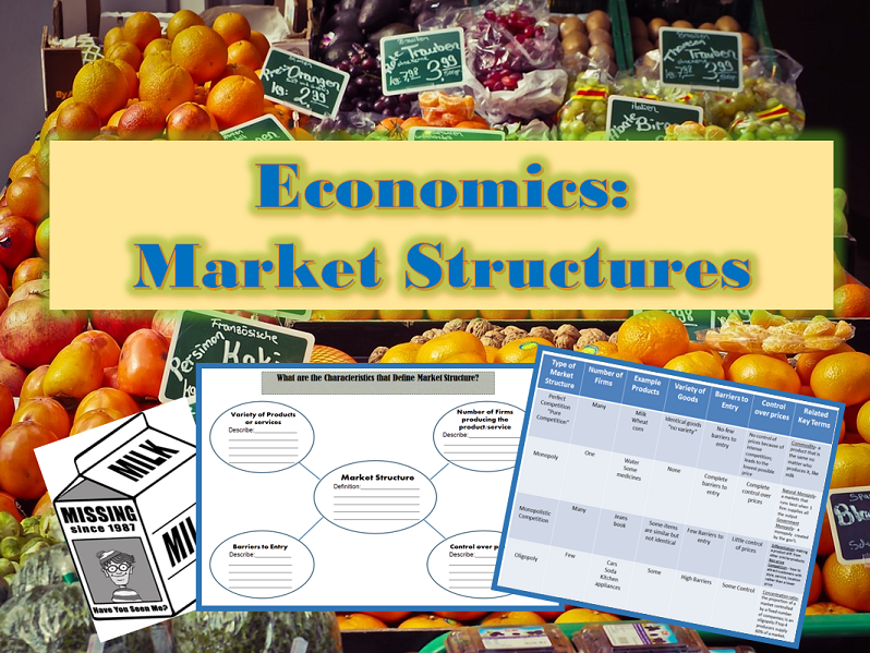 U.S. Economics: Market Structures Class Activity