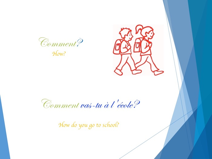 the interrogative pronouns in French