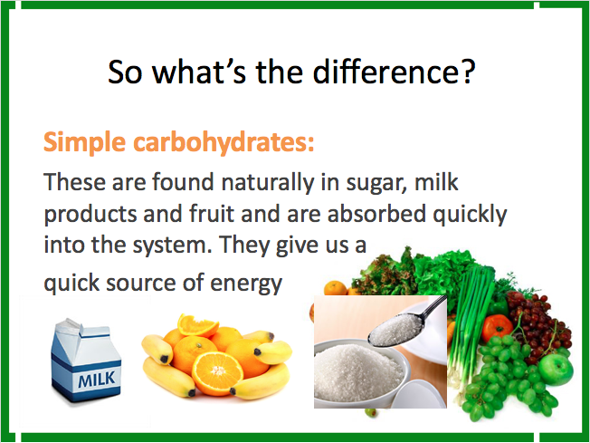 Year 7 Food Lesson - Carbohydrates, Banana Smoothie, full resources