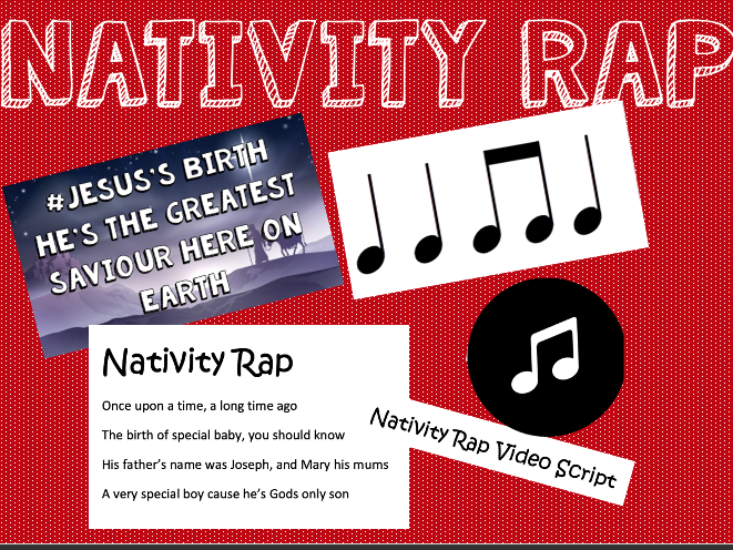 Christmas Nativity Rap
