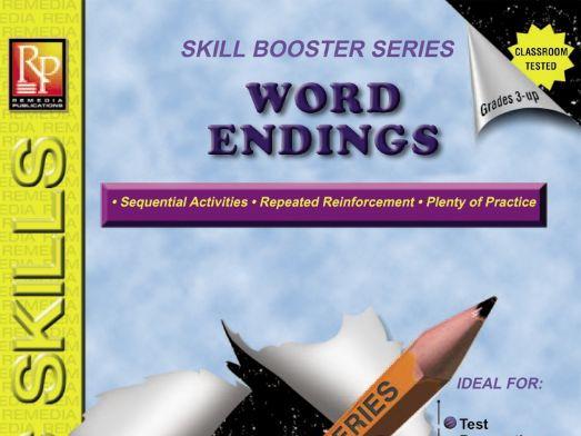 Word Endings: Skill Booster Series
