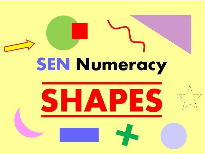 SEN Numeracy - SHAPES