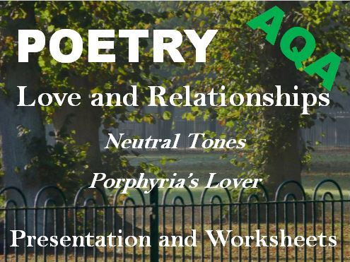 Love + Relationships Poetry - Exam Revision Sample Answers - 'Porphyria's Lover' and 'Neutral Tones'
