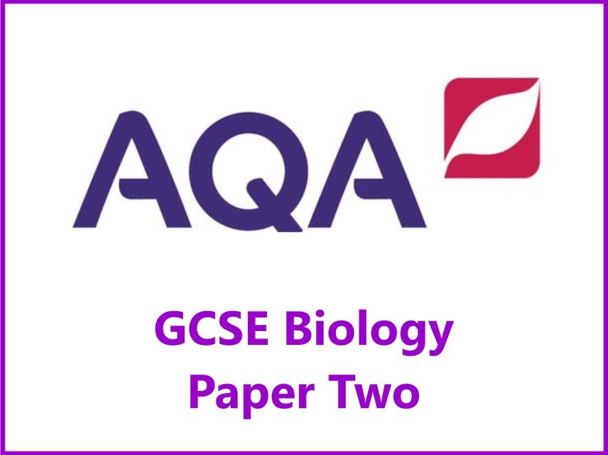 AQA Biology GCSE Grades 4, 6 & 8 Revision Checklists Paper Two
