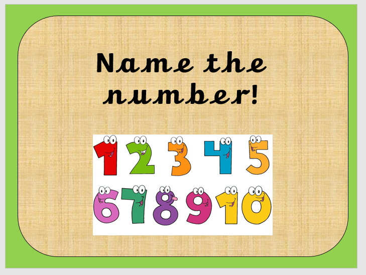 EYFS Maths quick starters