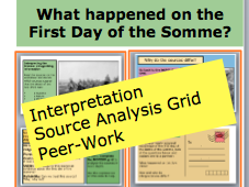 *FULL LESSON* What happened on the First Day of the Somme? 20th Century History Lessons KS3