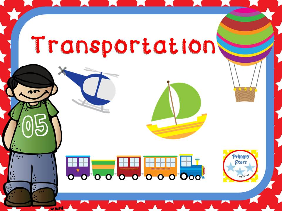 Transport Topic Key Stage 1