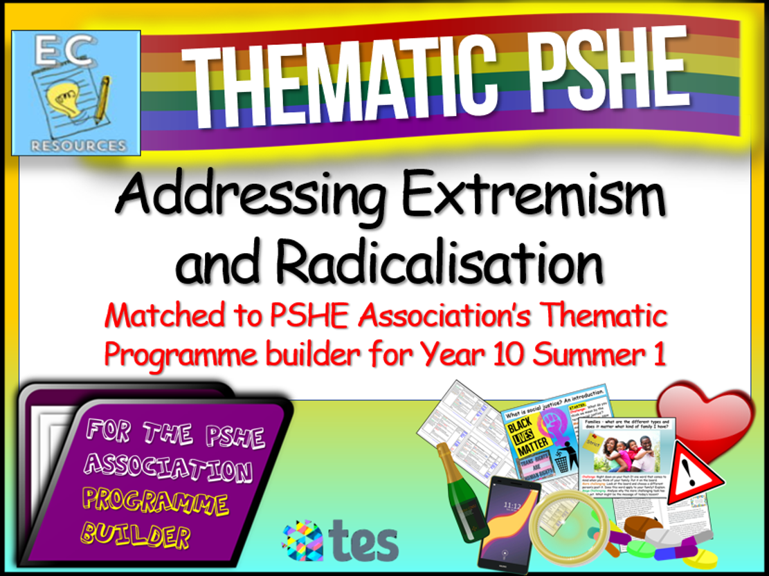 Thematic PSHE Addressing Radicalisation + Extremism
