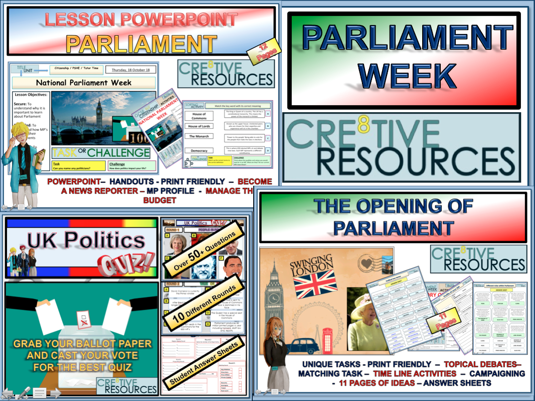National Parliament Week Bundle