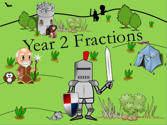 Year 2: Fractions