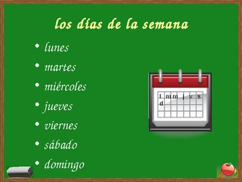 Fecha (Date in Spanish) PowerPoint