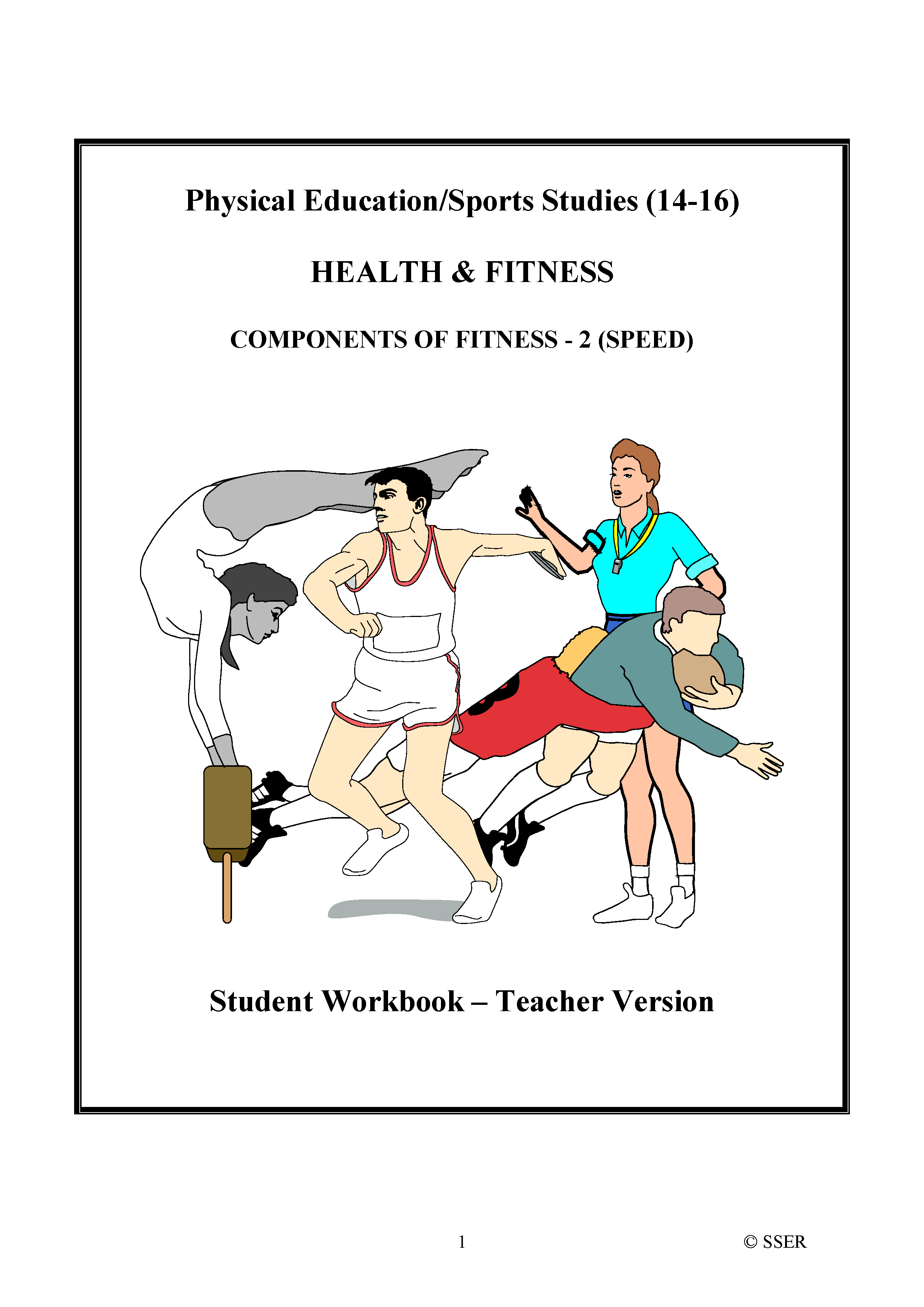PE304ST - Components of Fitness - 2 (Speed) WS