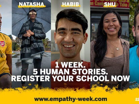 Empathy Week 2021 - Register Your School
