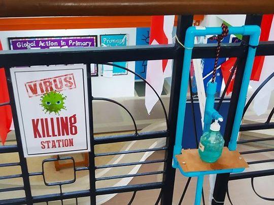 Virus Killing Station Poster
