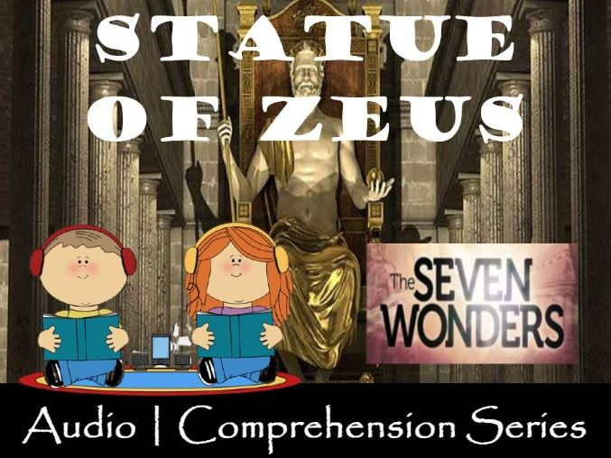 Statue of Zeus at Olympia | Distance Learning | Audio & Comprehension Worksheets