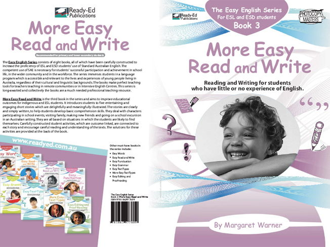 Easy English Book 3: More Easy Read and Write (Australian E-book for ESL and At Risk Students)
