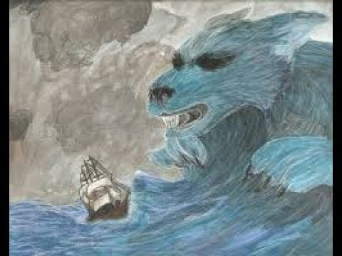 THE SEA BY JAMES REEVES - METAPHOR AND PERSONIFICATION POEM - KS3 POETRY