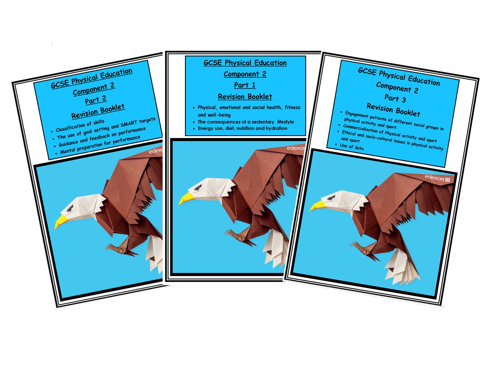 GCSE PE - Component 2 - Complete Revision  Booklets