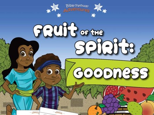 Goodness: Fruit of the Spirit Activity Book for Beginners