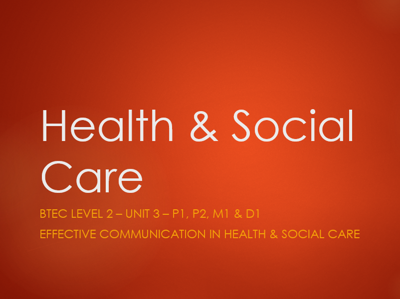 interpersonal communication in health care essays