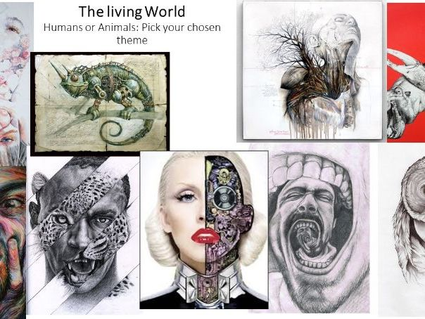 The Living World GCSE art project