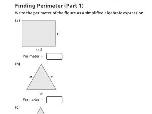 Finding Perimeter (Part 1)