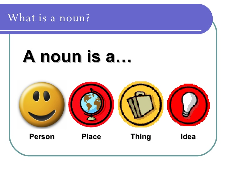 Nouns for KS1 Resources based on Corbett and Strong