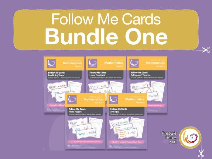 Follow Me Cards Bundle