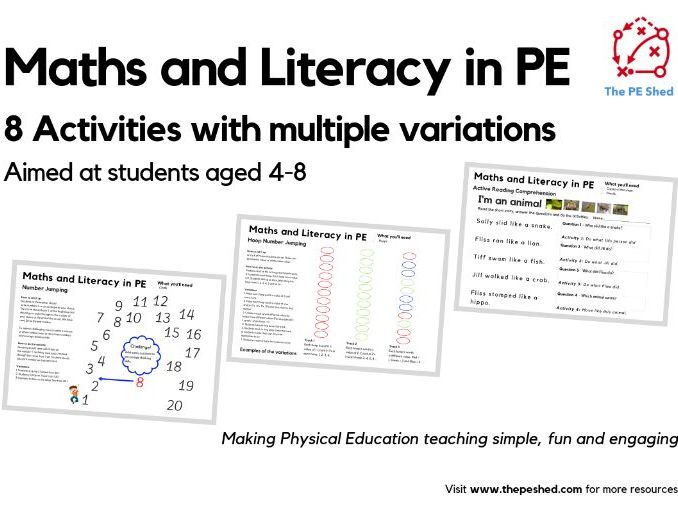 Maths and Literacy in PE Resource Pack