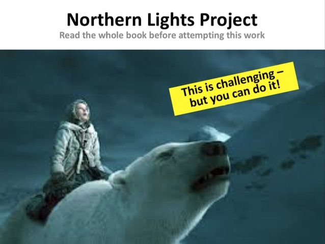 Essay Writing - The Northern Lights - Challenging