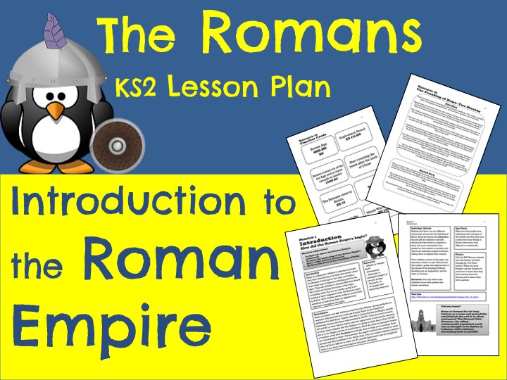 Romans Lesson Plan - Roman Empire