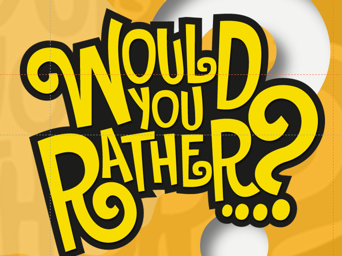 Speaking and listening: Would you rather activities