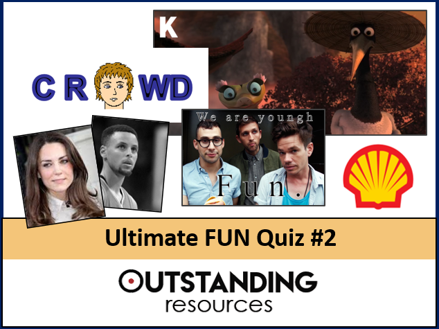 Ultimate FUN QUIZ 2020 #2 (End of Year Quiz, End of Term QUIZ) - Logos, Dingbats, Music, Movies