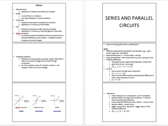 AQA GCSE TRIPLE SCIENCE: PHYSICS PAPER 1