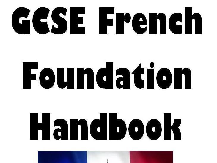 AQA GCSE French Foundation handbook