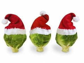 Record Breaking Chocolate Brussel Sprouts Christmas Assembly