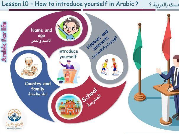 Free Arabic Lessons