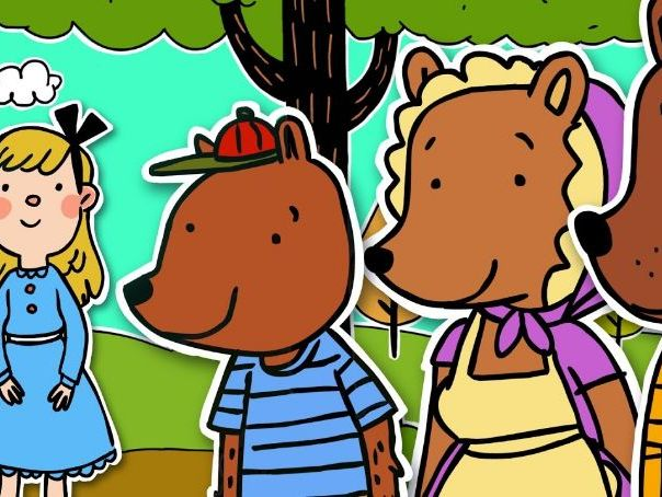 Differentiated Goldilocks and the Three Bears SATS Style questions Year 2