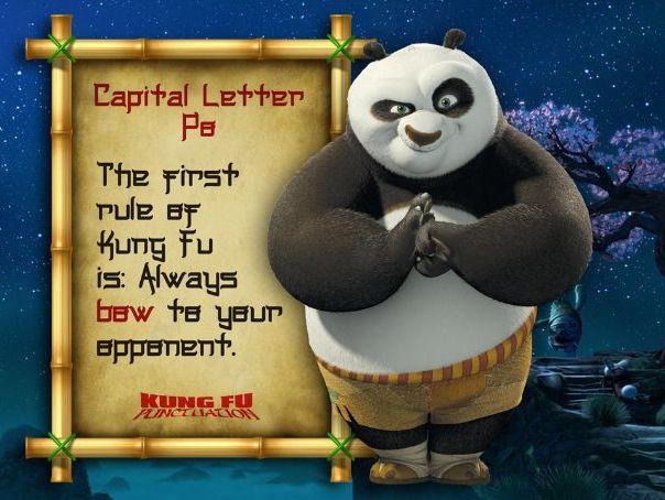 Kung Fu Punctuation