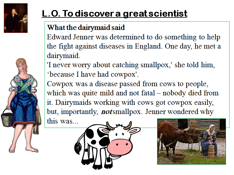 Edward Jenner and smallpox - a science week special