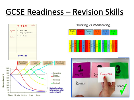 Revision skills - tutor form time mini SOW