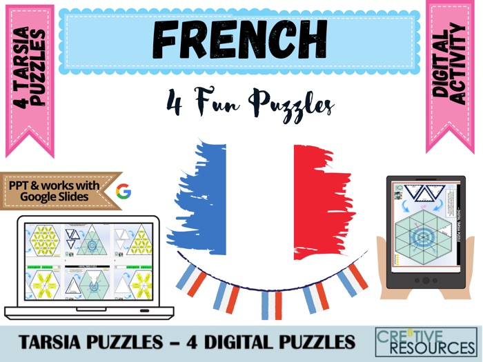 French Digital puzzles