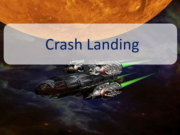 Crash Landing – a space themed comprehension pack
